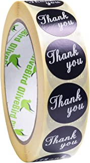 """1"""" Thank You Stickers / 1000 Labels per Roll"""