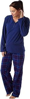 Indigo Sky Ladies Warm Supersoft Fleece Pyjama