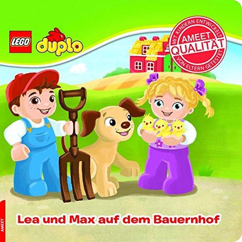 LEGO® DUPLO®. Lea und Max auf dem Bauernhof: Papp-Bilderbuch