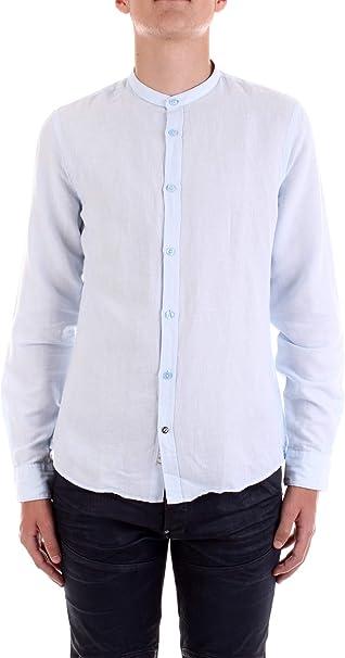 Fred Mello Camisa Serafino Lino Hombre Camisas, azul celeste ...
