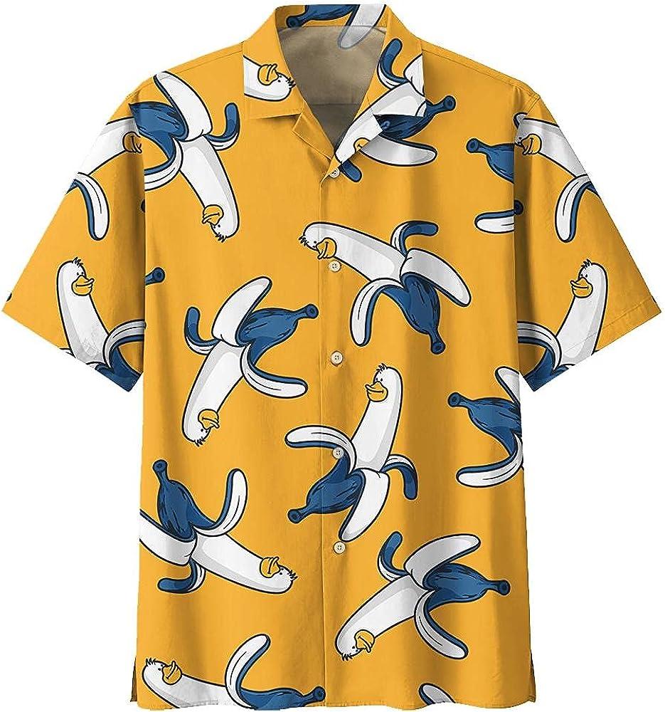 Duck Hawaiian Max 89% OFF price Shirt Shirts