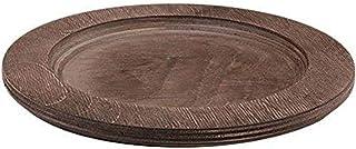 Lodge - Protector mesa para sarten hierro fundido, Madera, Marrón, diametro: 20 cm