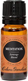 Sponsored Ad - Edens Garden Meditation Essential Oil Synergy Blend, 100% Pure Therapeutic Grade (Anxiety & Stress) 10 ml