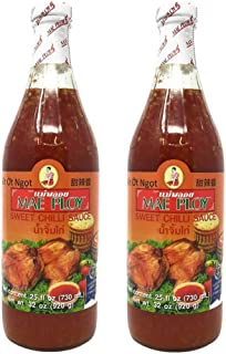 Mae Ploy Sweet Chilli Sauce 25fl.oz, 2 Pack