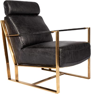 Moe's Home Collection Paradiso Chair, Black