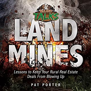 Land Mines audiobook cover art