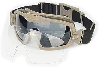 ATAIRSOFT Fan Version Cooler Airsoft Glass Regulator Goggles Ski Snowboard Bike Sports