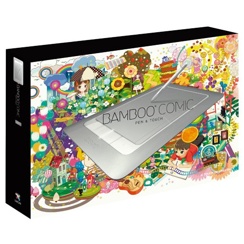 Wacom ペンタブレット Mサイズ デジ絵作成入門機 コミスタMini付属 Bambooコミック CTH-661 S1