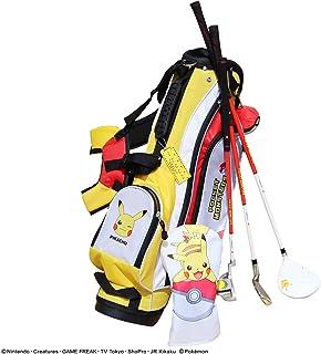 POCKET MONSTERS (ポケットモンスター) ポケモン ジュニア ゴルフセット クラブ3本セット(ドライバー、アイアン、パター)+スタンドバッグ