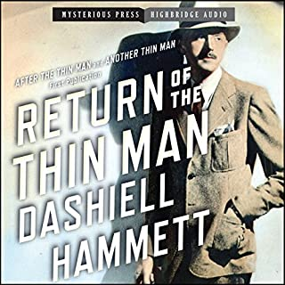 Return of the Thin Man audiobook cover art