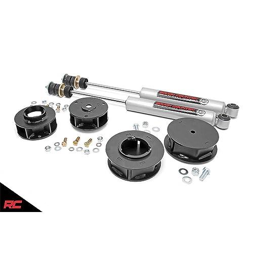 """Fits 03-14 Toyota 4Runner FJ Cruiser 2/"""" Rear Billet Spacers Level Lift Kit PRO"""