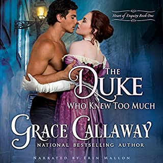 The Duke Who Knew Too Much audiobook cover art