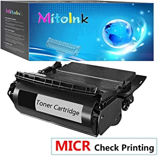 MitoInk 1 Black 12A5845 MICR Toner Cartridge Compatible for Lexmark 12A5845 Black Printer MICR Toner Cartridge - 25,000 Pages
