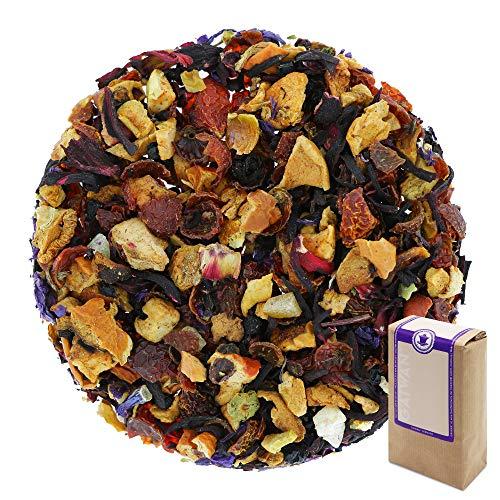 """Núm. 1171: Té de frutas """"Frutas de verano"""" - hojas sueltas - 250 g - GAIWAN® GERMANY - manzana, rosa mosqueta, hibisco, saúco, piña y papaya, malva azul, naranja"""