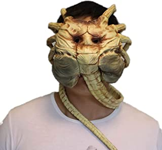 hcoser Alien : Covenant Facehugger Mask Cosplay Party Props Halloween for Adults