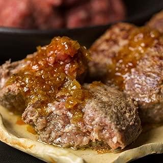 The Oniku そのまんま肉バーグ 180g×3個入 計540g 冷凍ハンバーグステーキ ソース付 業務用 お歳暮 お中元 ギフト お取り寄せ 牛肉