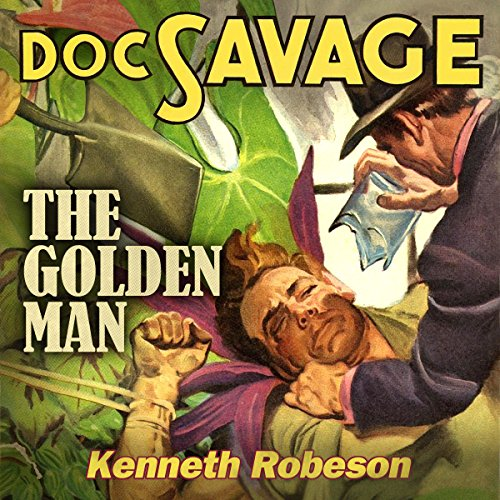 The Golden Man audiobook cover art