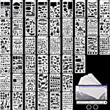 48 Pieces Journal Planner Stencils Plastic...
