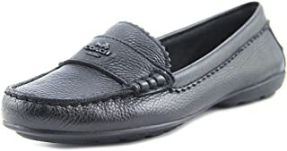 Womens Odette Leather Almond Toe Loafers