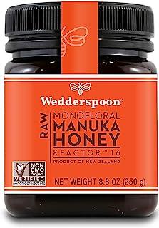 Wedderspoon 100% Raw Manuka Honey - Kfactor 16 - 8oz