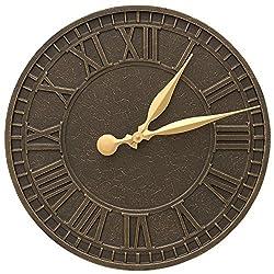 Whitehall Geneva 16-in Indoor Outdoor Wall Clock - 02081