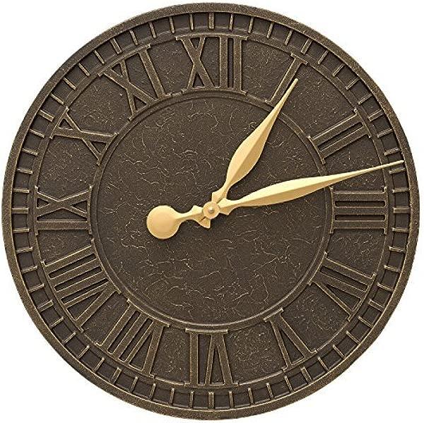 Whitehall Geneva 16 In Indoor Outdoor Wall Clock 02081