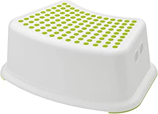 Childrens Stool Toddler Potty Training|| UK Supplier Colour- Green//White Multiuse Booster Step