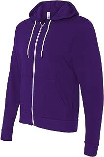 Bella + Canvas unisex Poly-Cotton Fleece Full-Zip Hoodie - 3739