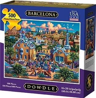 Dowdle Jigsaw Puzzle - Barcelona - 500 Piece