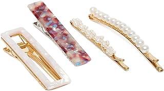 ZAVERI PEARLS Hair Jewellery for Women (Golden) (ZPFK9877)