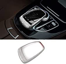 Thor-Ind Car Mouse Control TouchPad Frame Cover Decoration Sticker for Mercedes-Benz C E S Class GLC GLE CLS W213 W205 X253 W222 C180 C200 E200 GLC260 GLC200 Diamond Decoration (TouchPad)