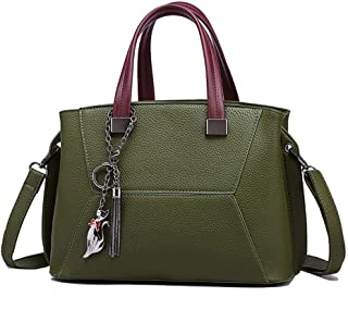 Shoulder Bag Hobos & Shoulder Bags Totes Women's Bag Retro Shoulder Messenger Bag Ladies Handbag Handbag Clutch (Color : Green)