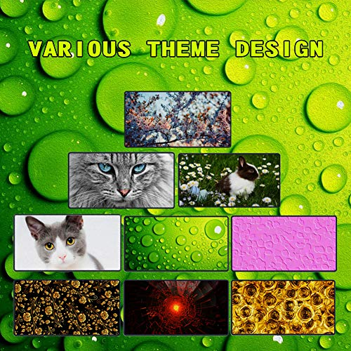 Keyboard Mouse Pads Anti-Slip Mousepad Pray Cute Kitten Animal Cat Extended Large Thick Gaming Mouse Mat Pad with Stitched Edge Cute Funny Novel for Games Work Study PC Computers Photo #3