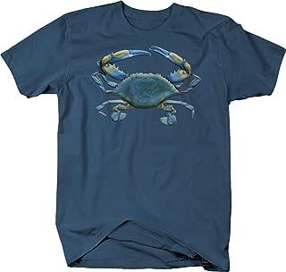 Blue Crab Deep Sea Ocean Fishing Seaside Fish Aquatic Sand Beach Tshirt