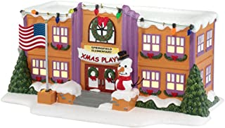 Department 56 The Simpson's Village Springfield Elementary School Lit House, 5.12 inch