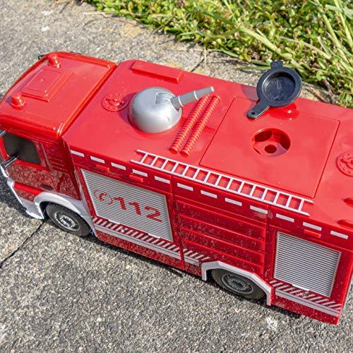 RC Auto kaufen Feuerwehr Bild 3: RAYLINE RC Feuerwehr Auto Car Ferngesteuerte Bus E572-003 Löschfahrzeug mit Wasserpumpe*
