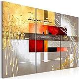 murando - Cuadro en Lienzo 120x80 - Abstracto - Impresión de 3 Piezas Material Tejido no Tejido Impresión Artística Imagen Gráfica Decoracion de Pared - Arte a-A-0110-b-f