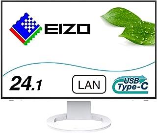 EIZO FlexScan EV2495-WT (24.1型/1920×1200/フレームレスモニター/アンチグレアIPS/疲れ目軽減/ホワイト)