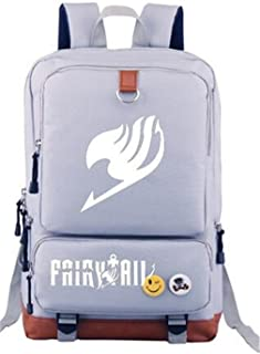 YOYOSHome Luminous Anime Fairy Tail Cosplay Daypack Bookbag Laptop Bag Backpack School Bag