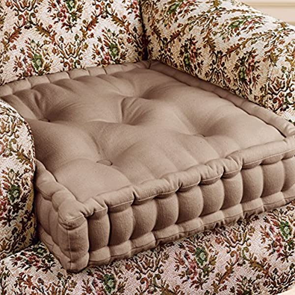 4 High Armchair Bolster Booster Easy Rise Cushion Mink One Size