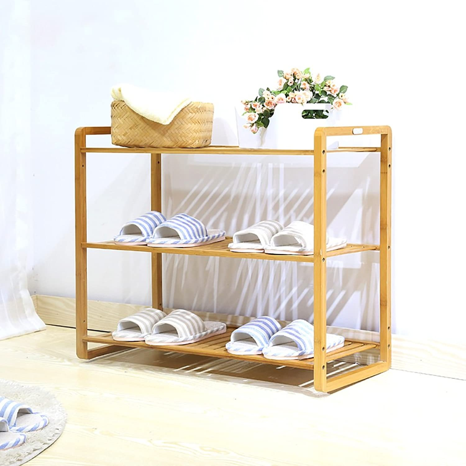 shoes Bench Organizing Rack shoes Rack dustproof Combination shoes Rack Multi - Layer Finishing Rack Nan Bamboo Bedroom Shelves