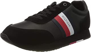 Tommy Hilfiger CORPORATE LEATHER FLAG RUNNER, Men's Shoes