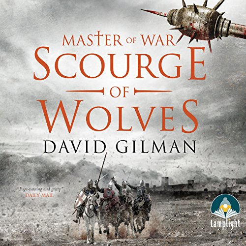 Scourge of Wolves audiobook cover art