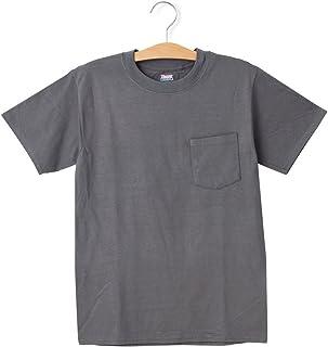 胸ポケット付 6.1ozのしっかり生地 丈夫で首回りも洗濯に強い 6.1 メンズ 定番 コットン beefy hanes ポケT ポケット ビーフィー Tシャツ ヘインズ hanespocket Sサイズ スモークグレー