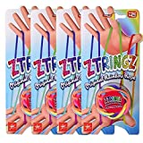 TE-Trend Ztringz Doigt Jouet Schnurspiel Jeu de Fil Seilpuzzle Nœuds Bricolage Mains Jeux Éducatifs Fille Multicolore - De 4 Lot Ztringz