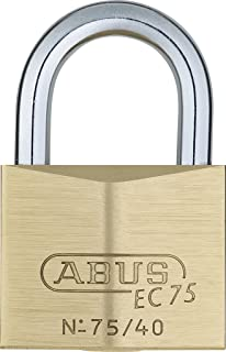 ABUS 75/40 KD B All Weather Solid Brass Keyed Different Padlock