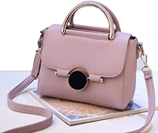 Women Bags Brand Female Handbag Crossbody Bags Fashion Mini Shoulder Bag for Teenager Girls with Sequined Lock Gifts,Purple,S