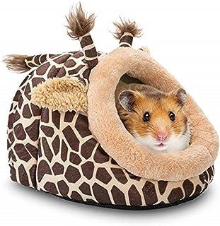 SKEIDO Small Pet Animals Bed Dutch Pig Hamster Cotton Nest Hedgehog Rat Chinchilla Guinea Habitat Mini House