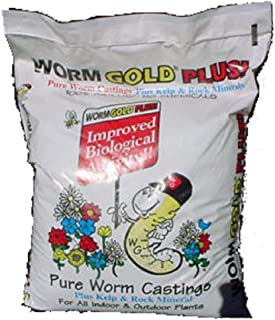 Worm Gold Plus - Urban Garden Farms 20 Dry Quart Bag Worm Gold Plus,