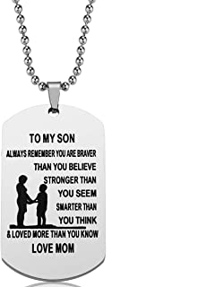 dog tag mom to son